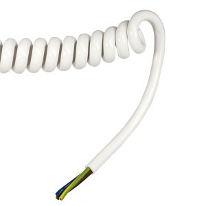 CROYFLEX PVC/PUR 3 CORE COILED CABLE